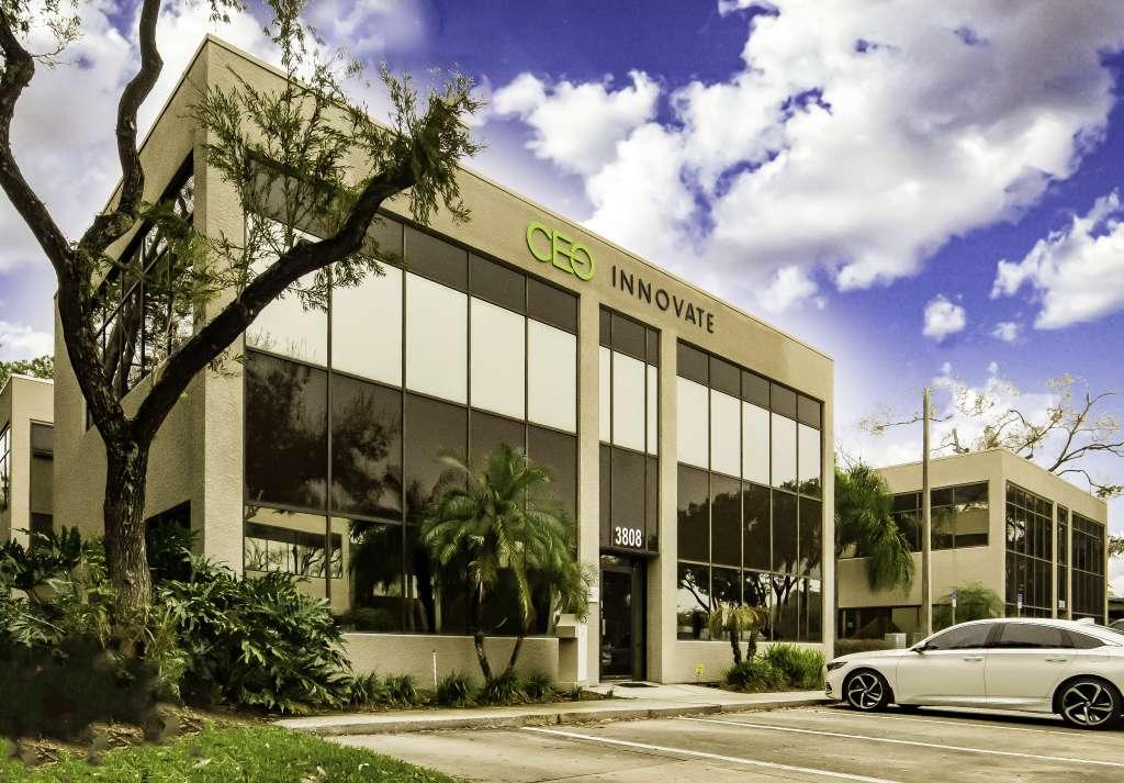 Manta Law's office, located at 3808 Gunn Highway, Tampa, Florida.