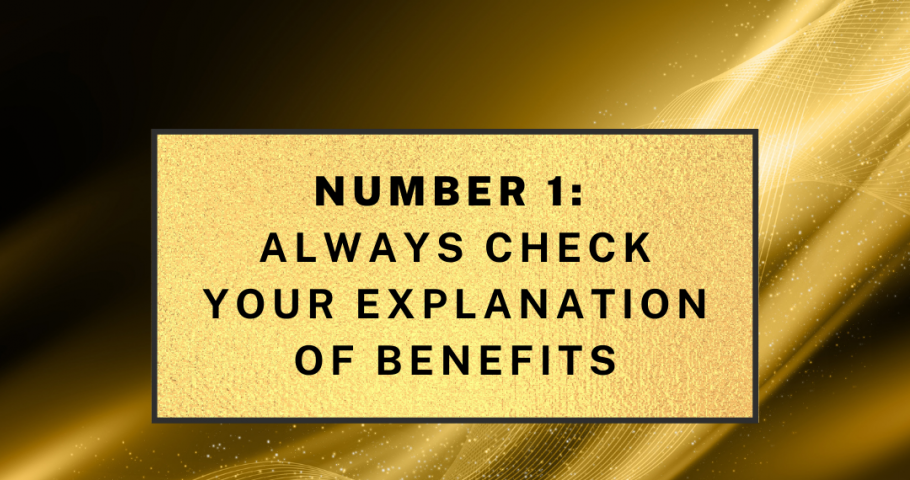 New Year's Resolution No. 1: Always Check Your Explanation of Benefits